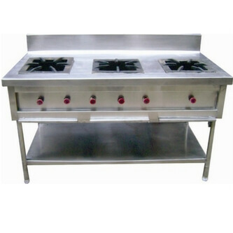 2 range commercial gas stove