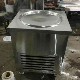Fried ice Cream Machine Manufacturers in Delhi and India