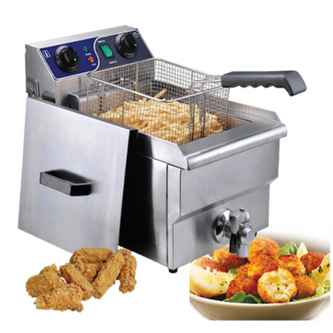 commercial deep fryer price in delhi or india